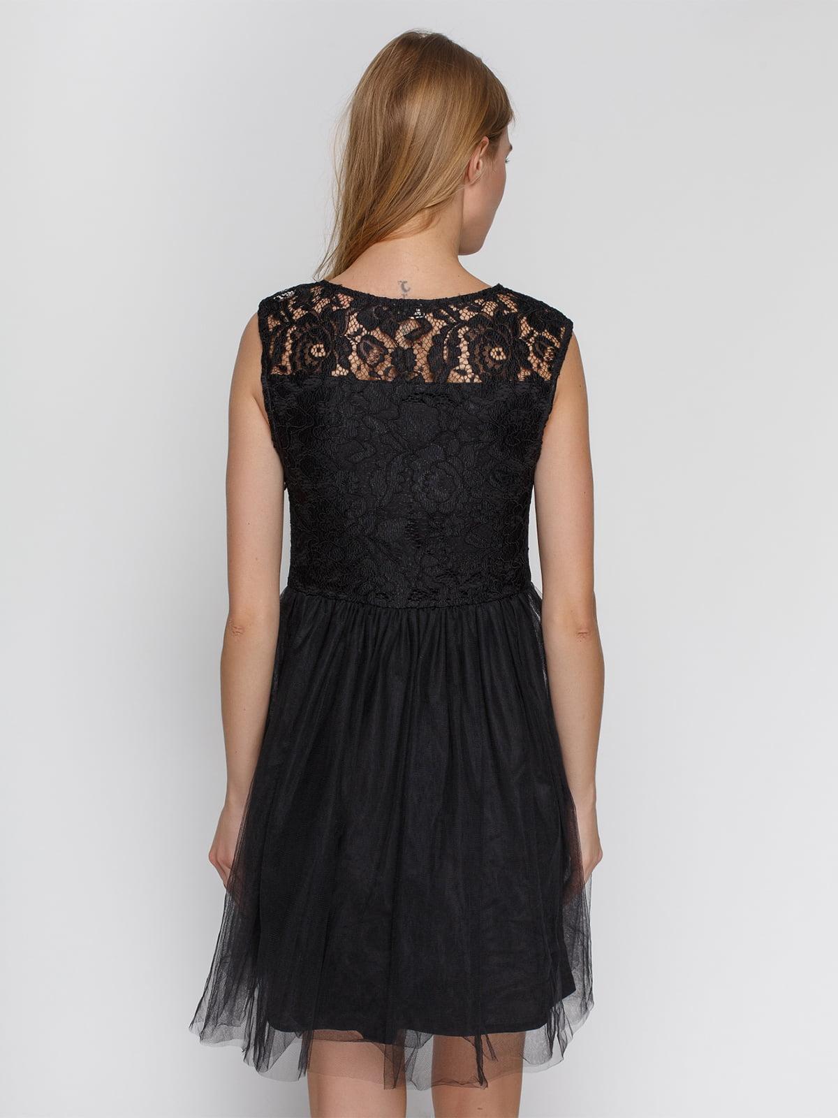 Платье черное | 4543781 | фото 2