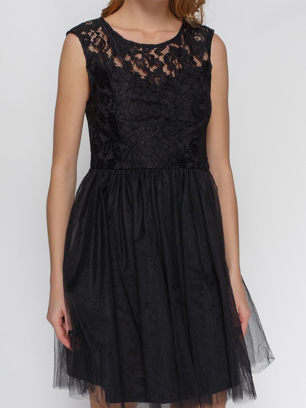 Платье черное | 4543781 | фото 3