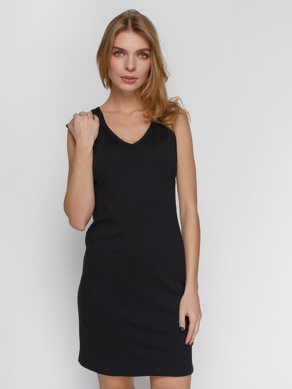 Платье черное | 4546029