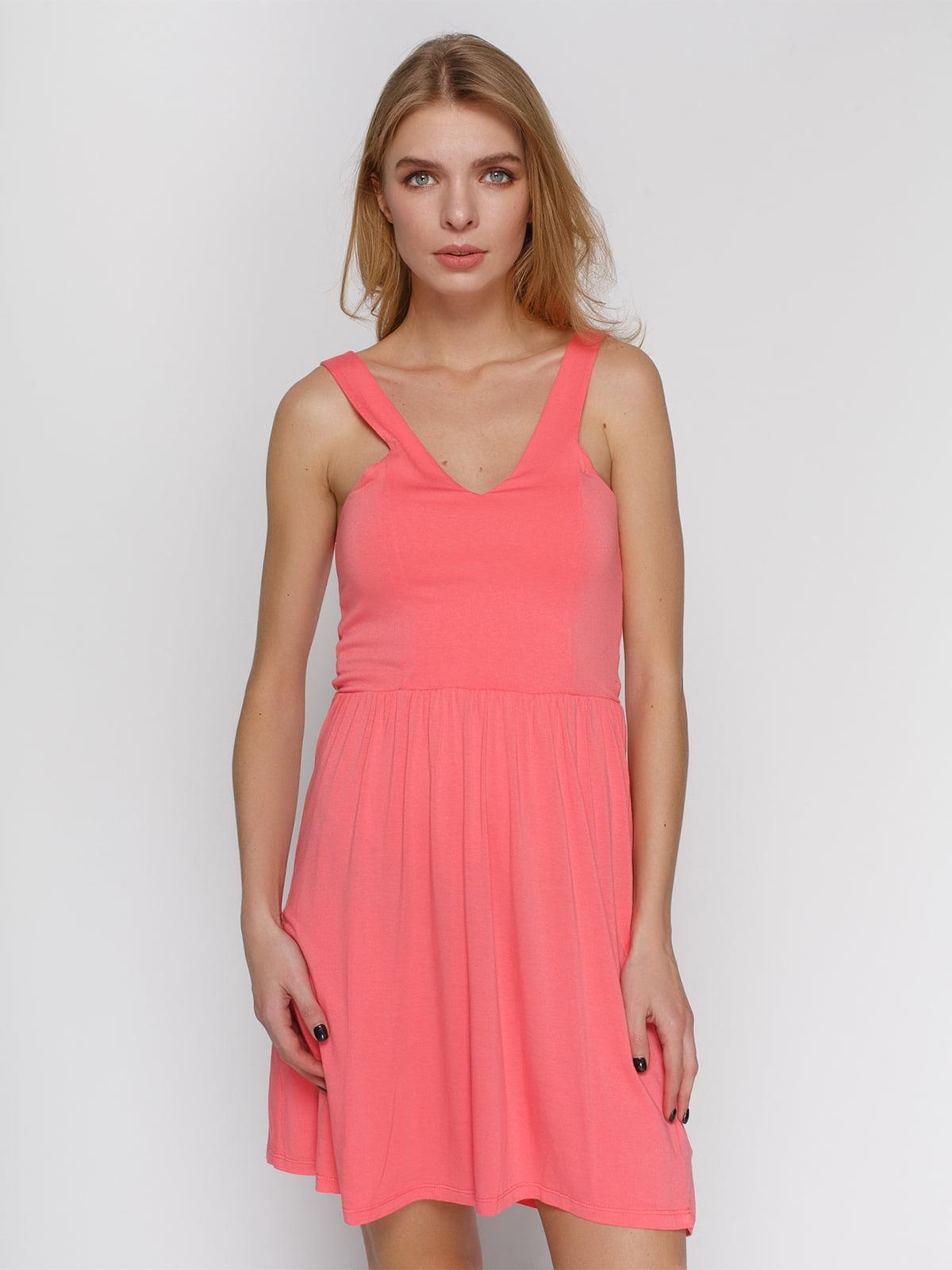 Платье лососевого цвета | 4632659