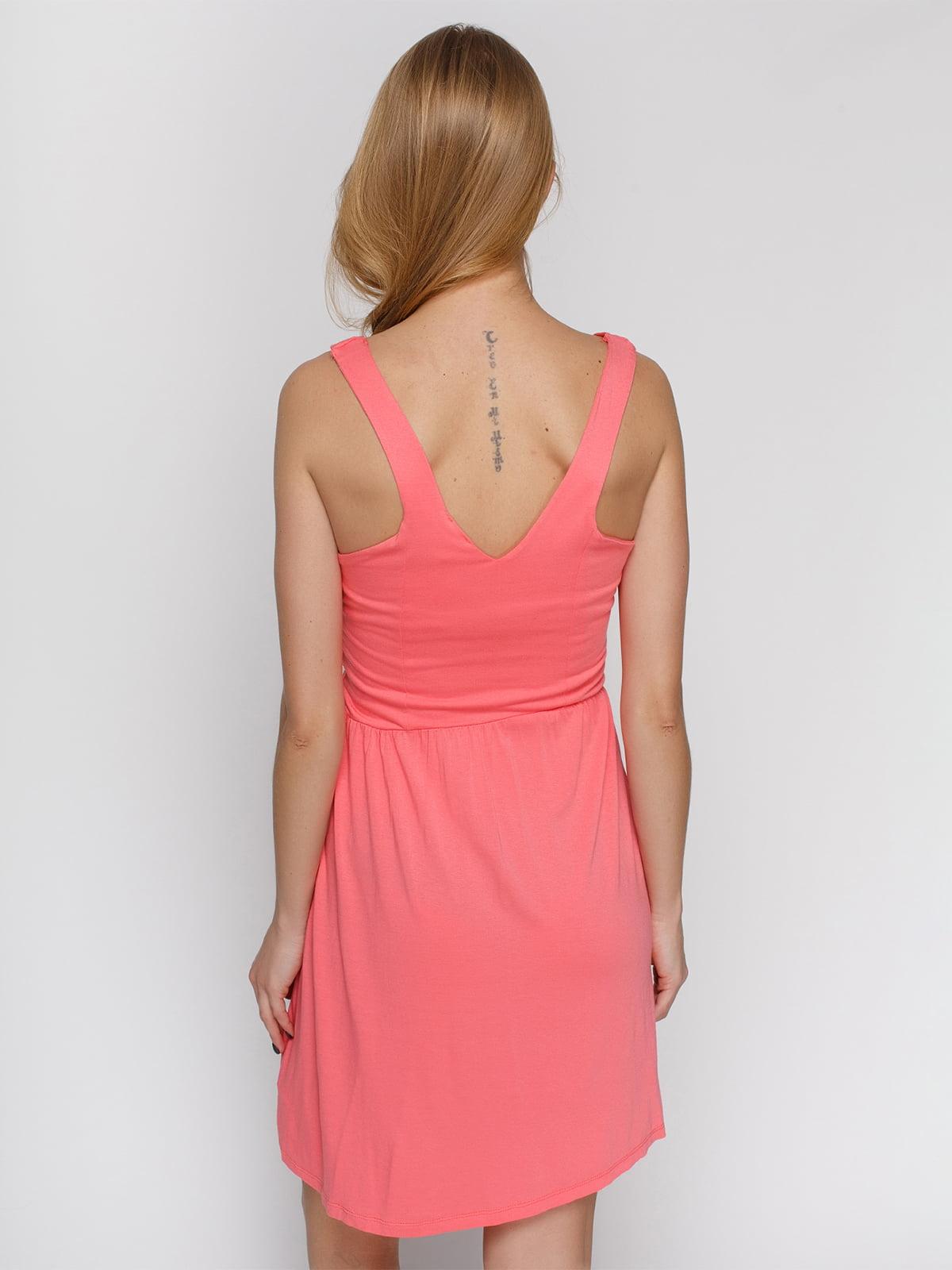 Платье лососевого цвета | 4632659 | фото 2