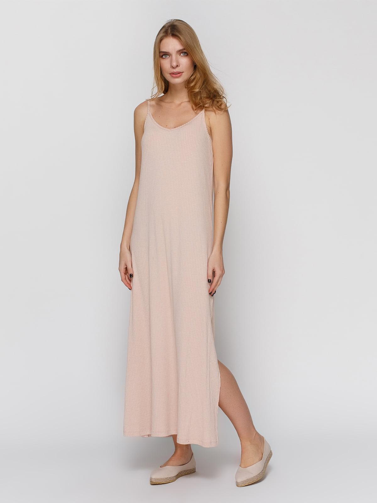 Платье бежевое | 3927242