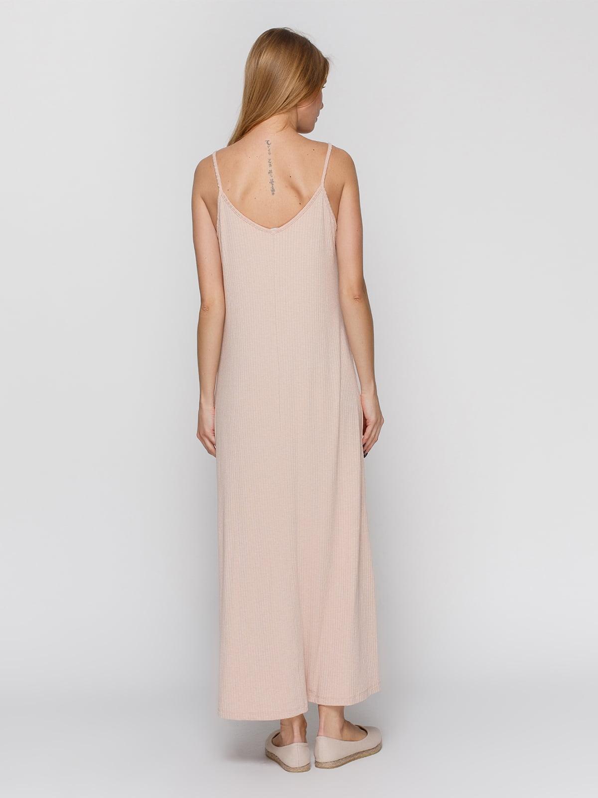 Платье бежевое | 3927242 | фото 2