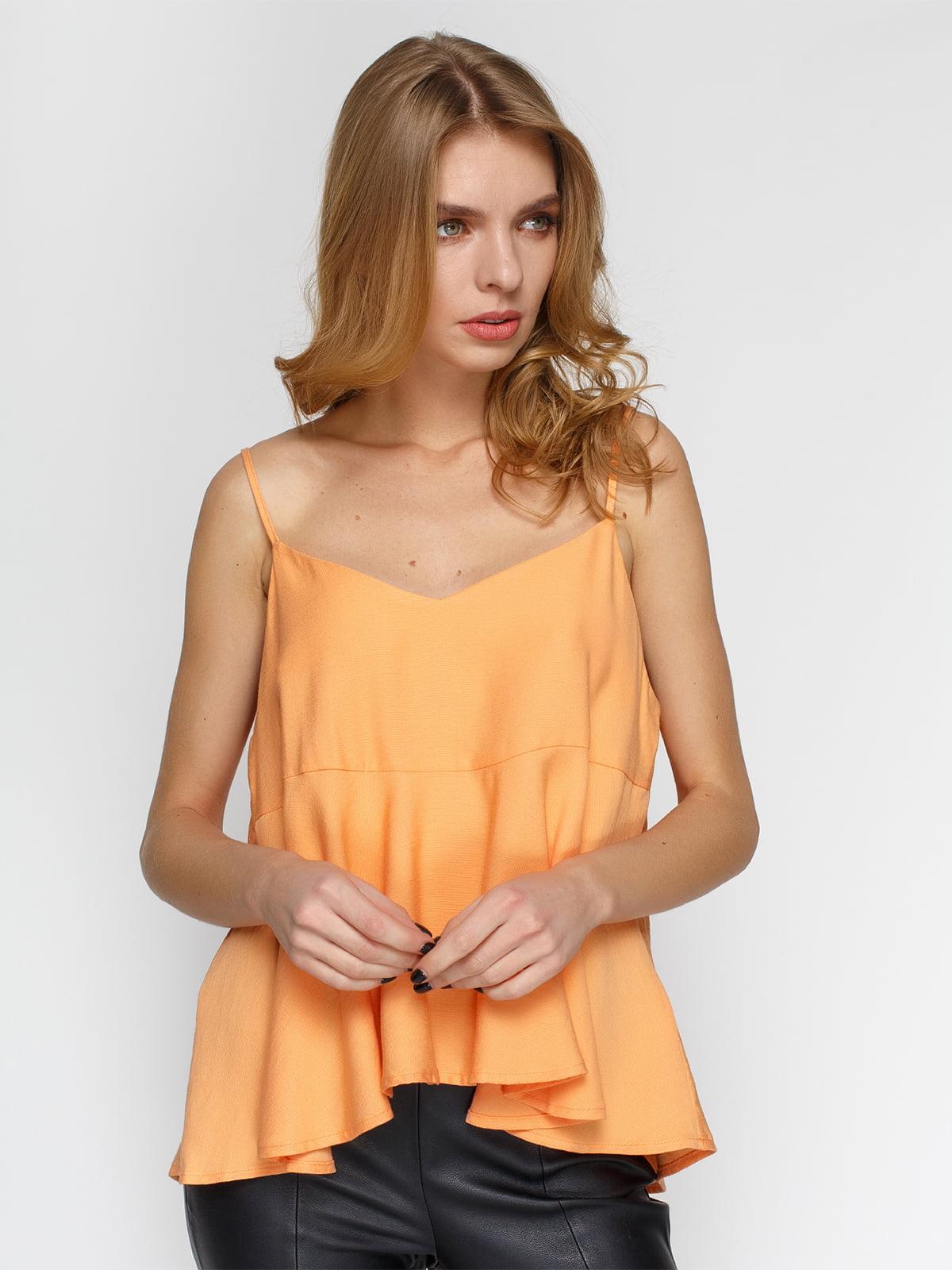 Майка оранжевая | 4625151