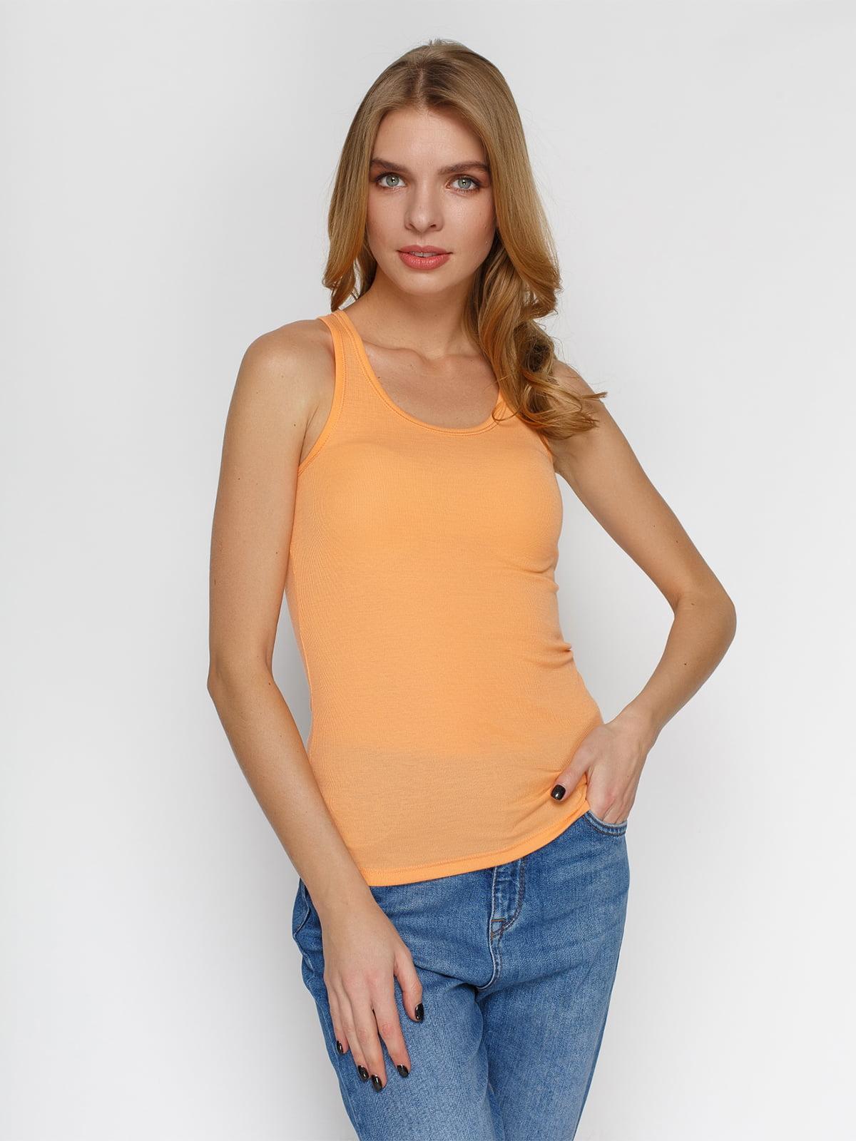 Майка оранжевая | 3782713