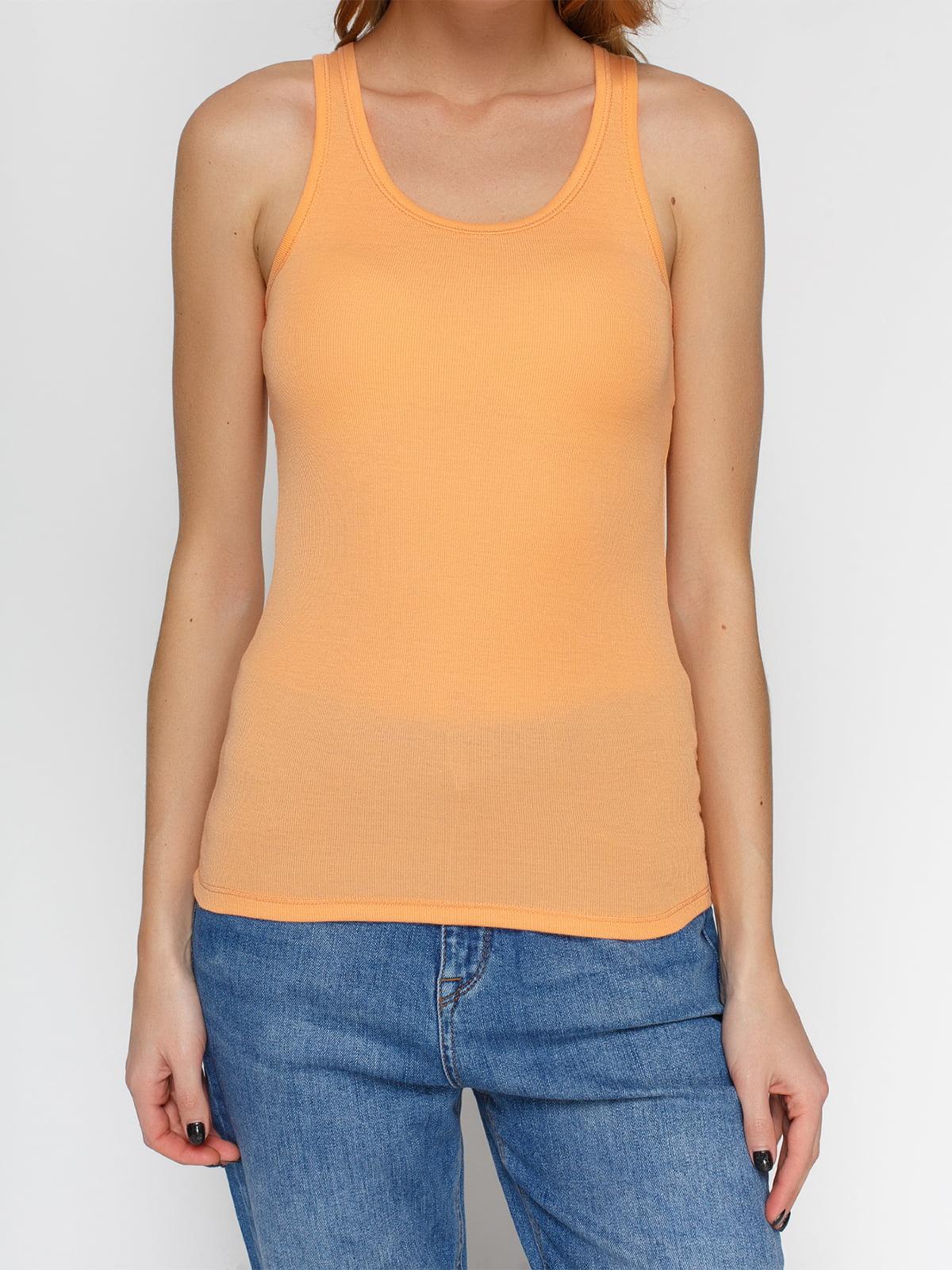 Майка оранжевая | 3782713 | фото 3