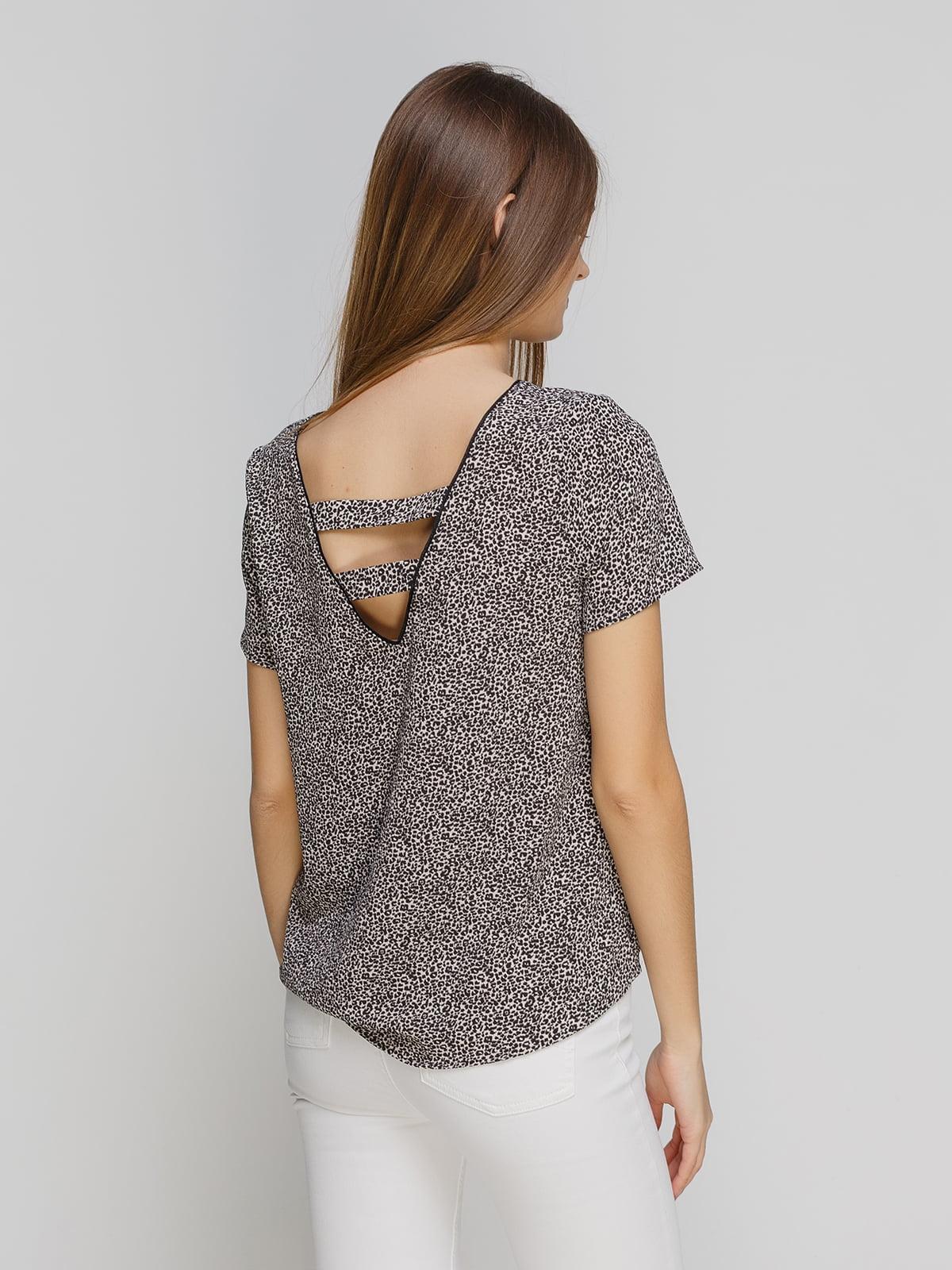 Блуза анималистичной расцветки | 4628472 | фото 2