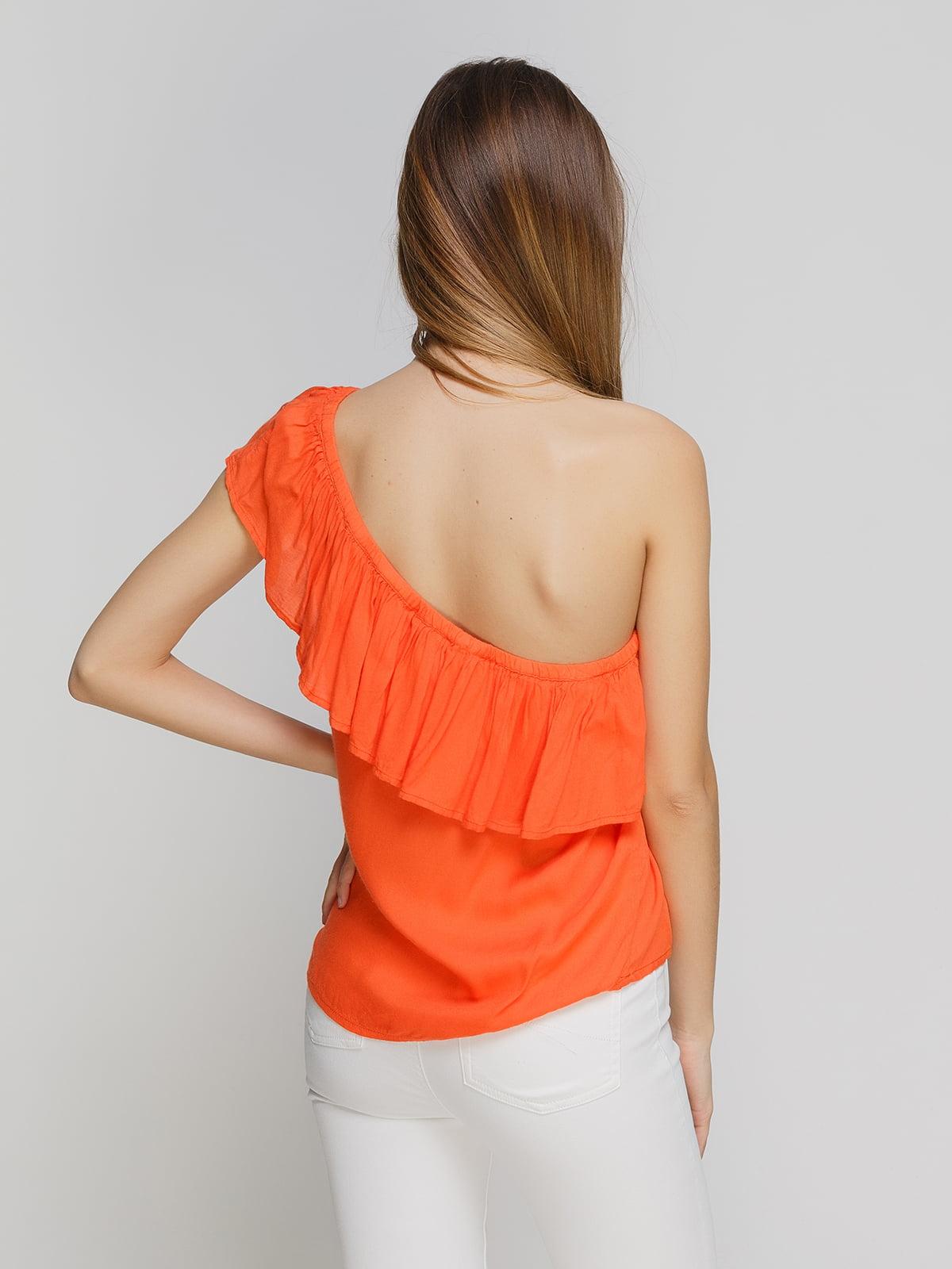 Блуза оранжевая   4626757   фото 2
