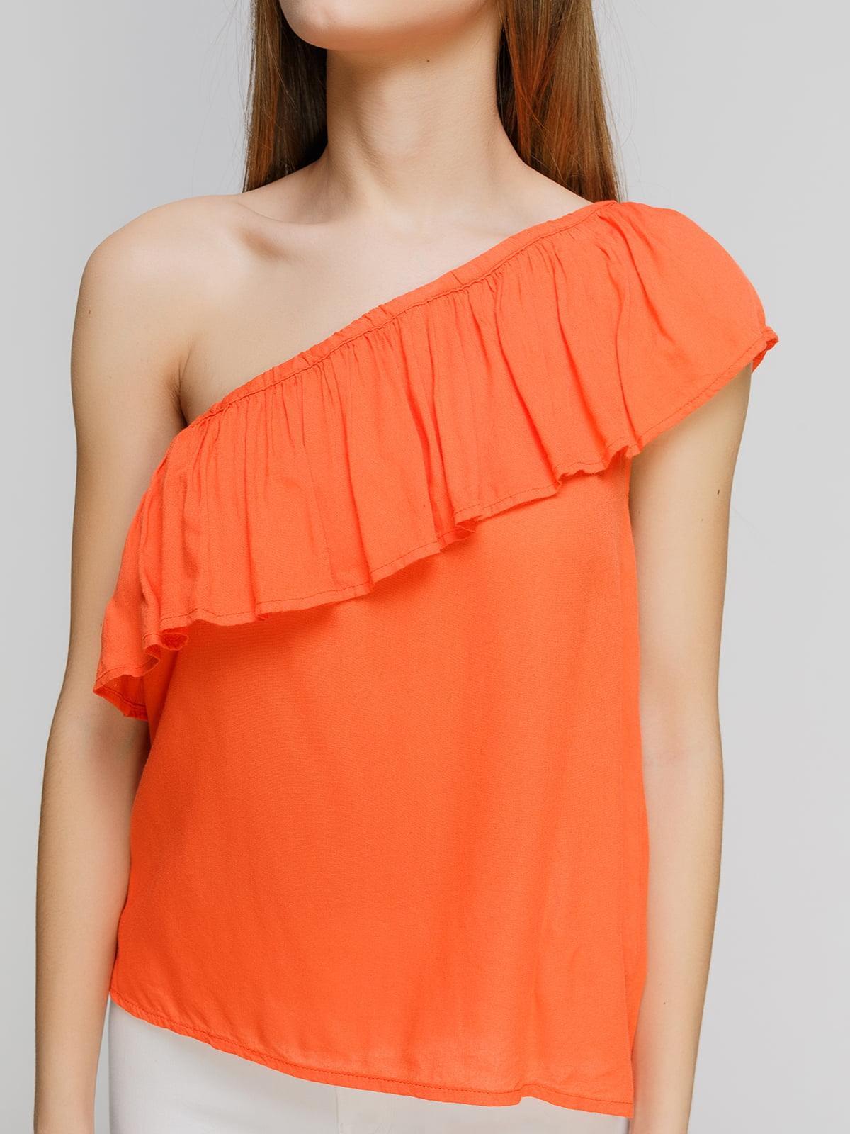 Блуза оранжевая   4626757   фото 3