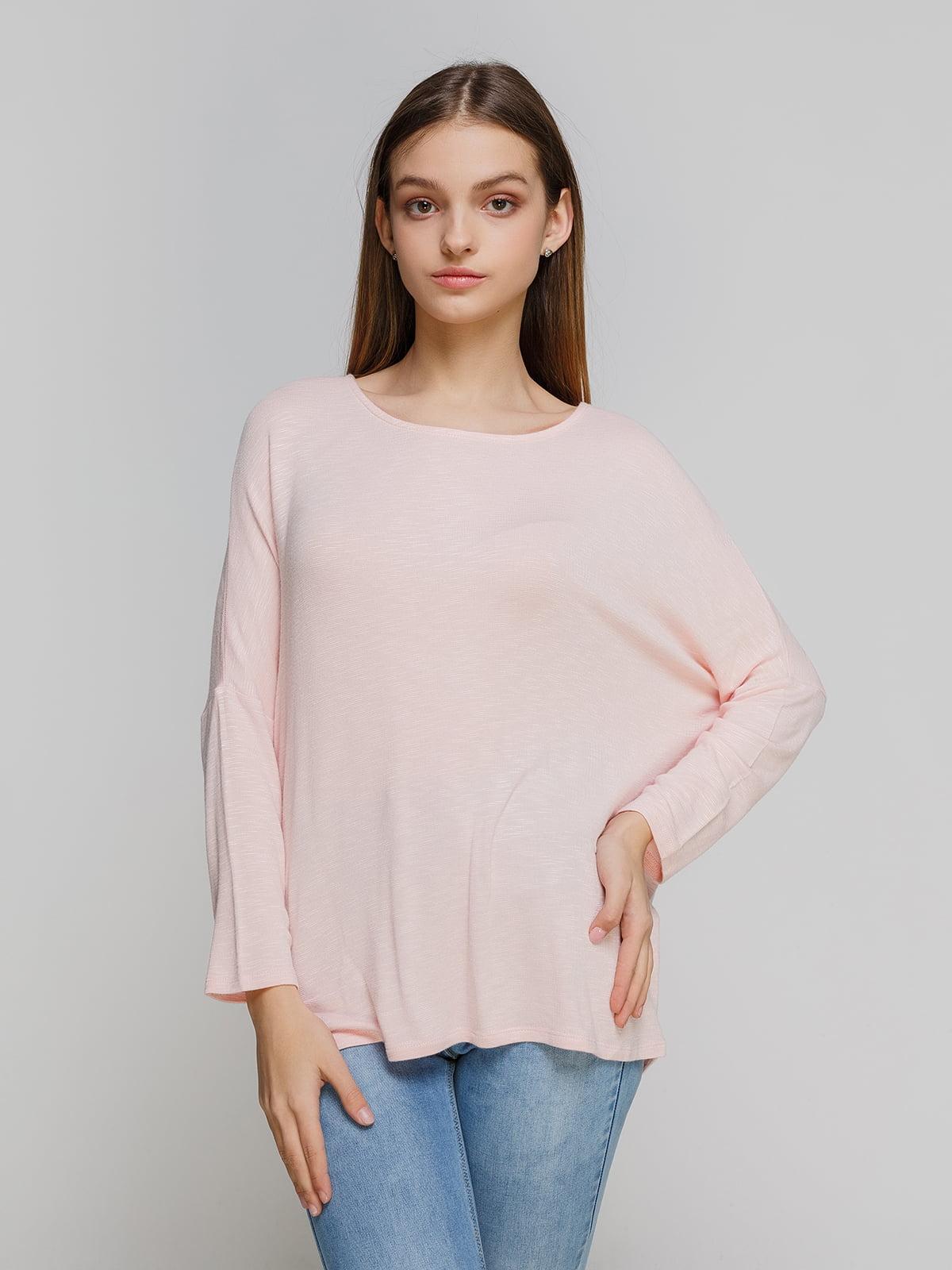 Лонгслив розовый | 4545597