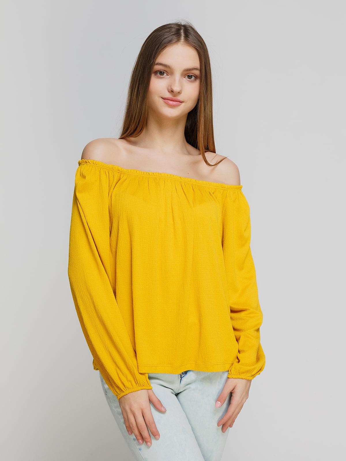 Блуза желтая   4545859