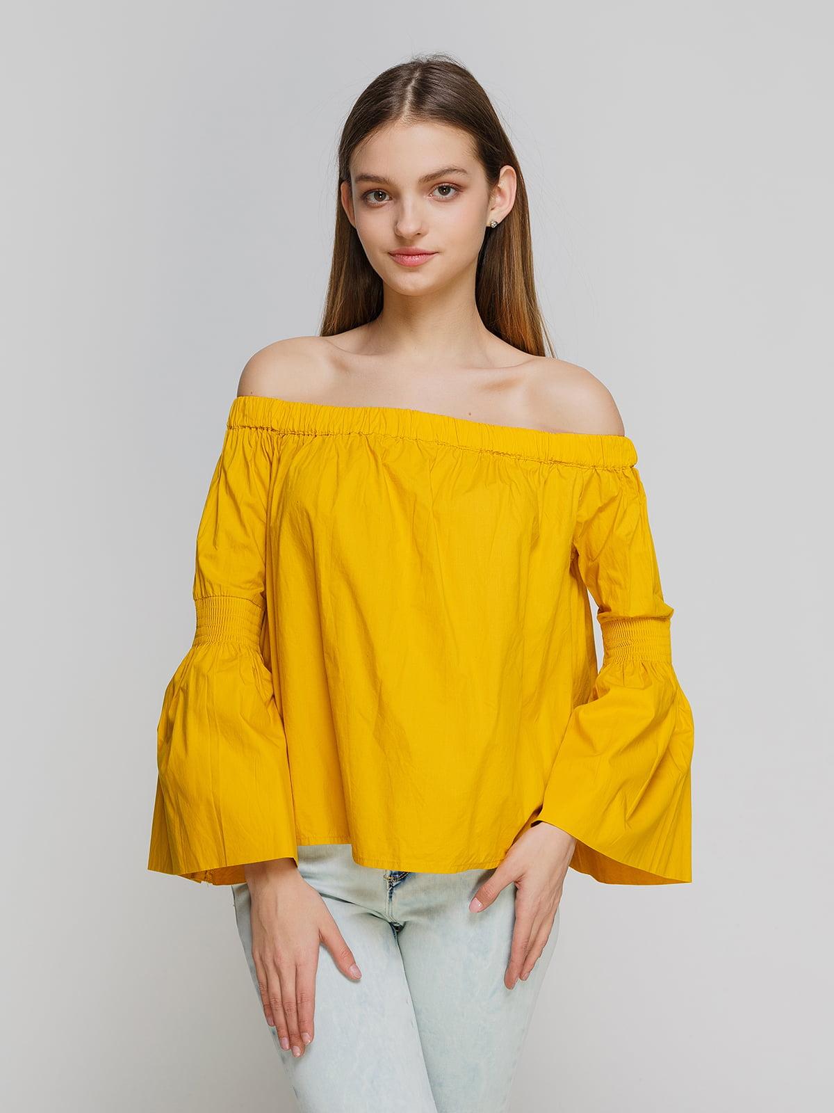 Блуза желтая | 3861861