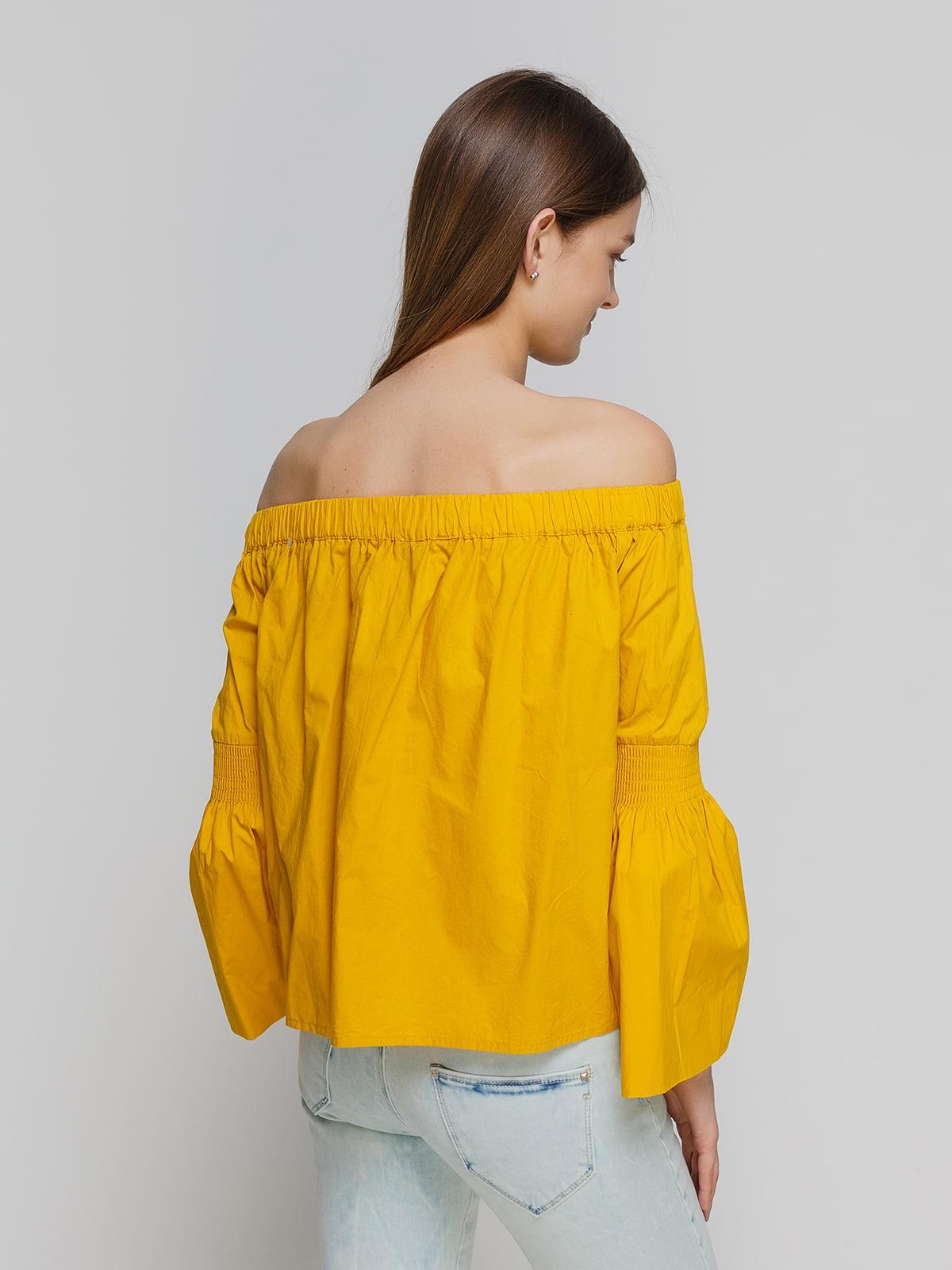 Блуза желтая | 3861861 | фото 2