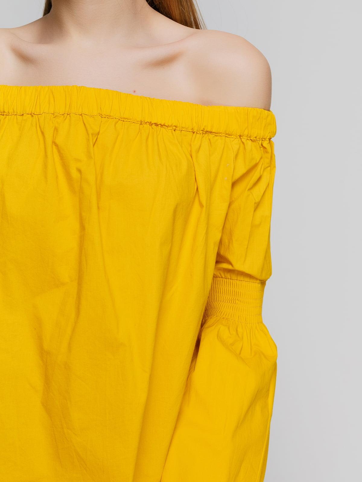 Блуза желтая | 3861861 | фото 3