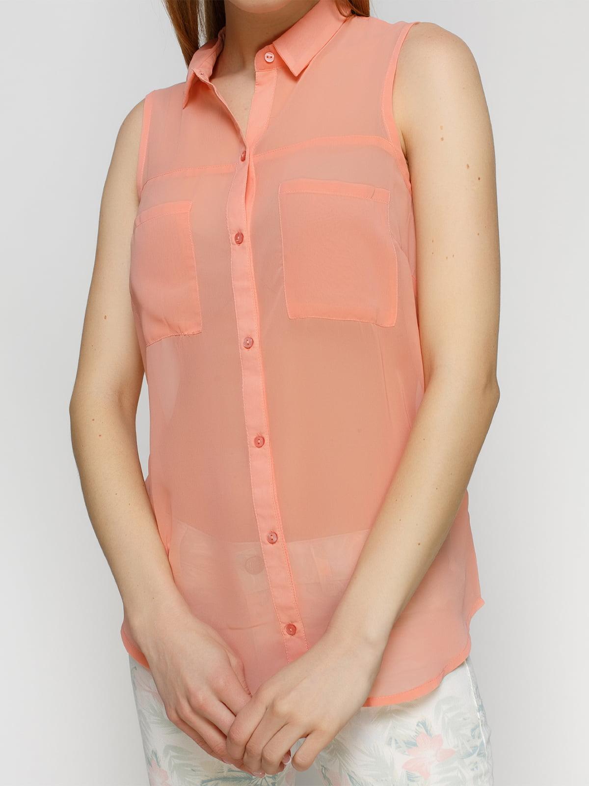 Рубашка розовая | 3791511 | фото 3