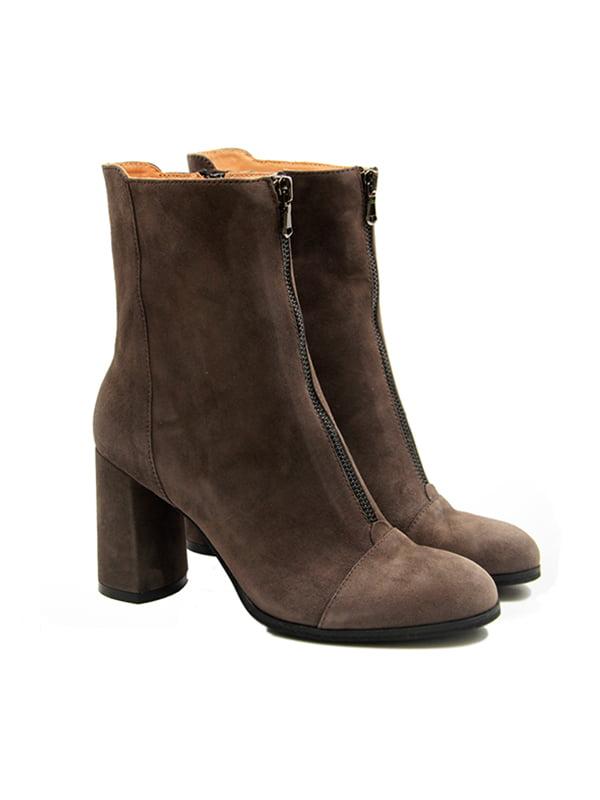 Ботинки серые | 4876985