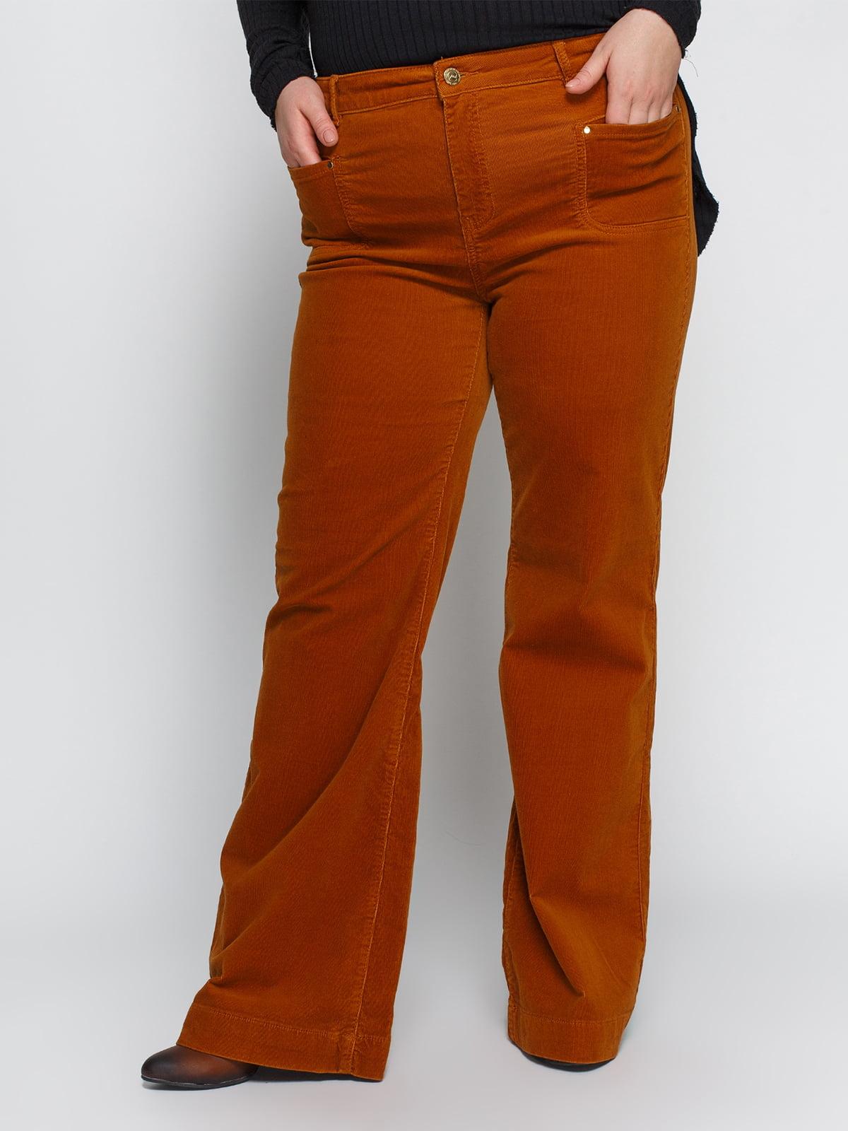 Штани коричневі | 4547080