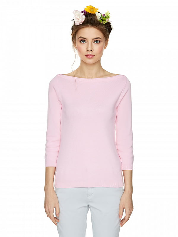 Джемпер розовый | 4863816