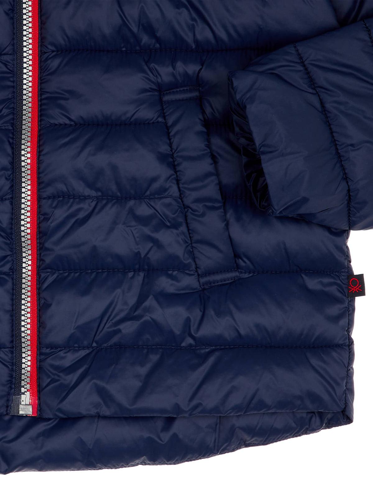 Куртка синяя | 4864541 | фото 3