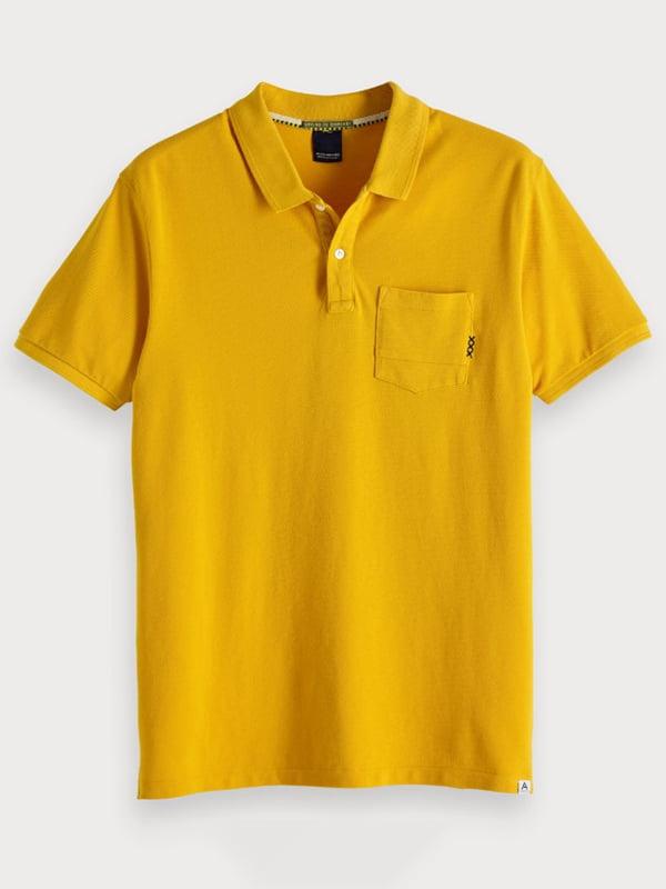 Футболка-поло жовта | 4878133