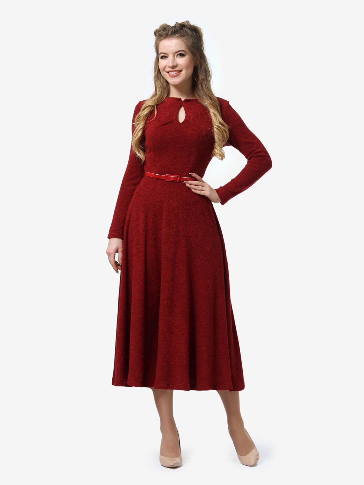 Сукня бордова | 4878407