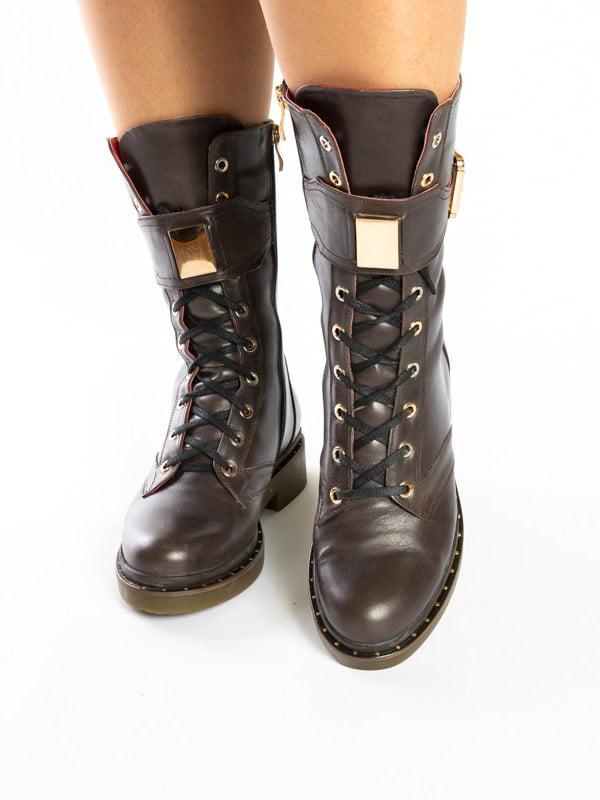 Ботинки коричневые | 4872575 | фото 2