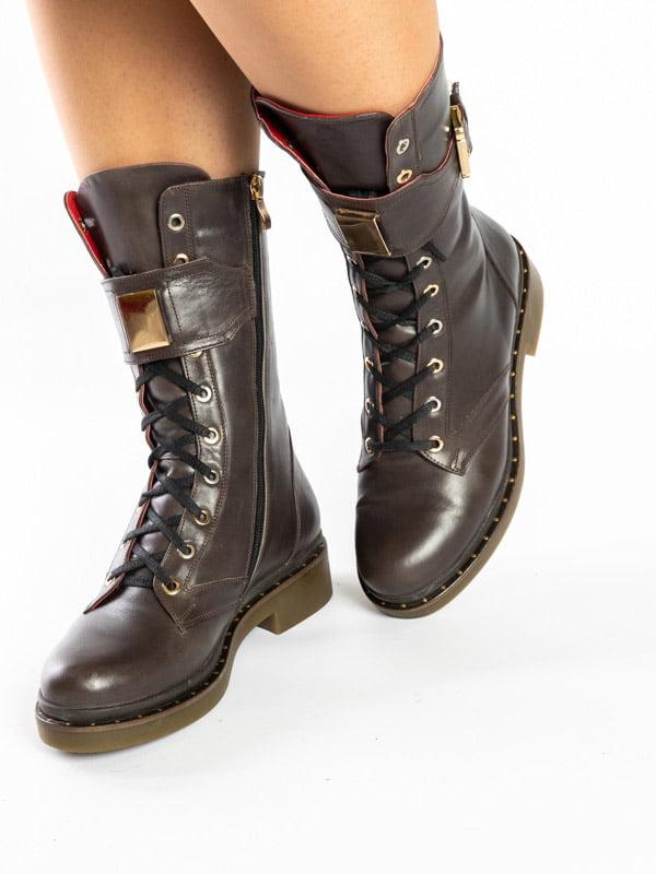 Ботинки коричневые | 4872575 | фото 3