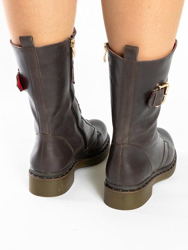Ботинки коричневые | 4872575 | фото 4