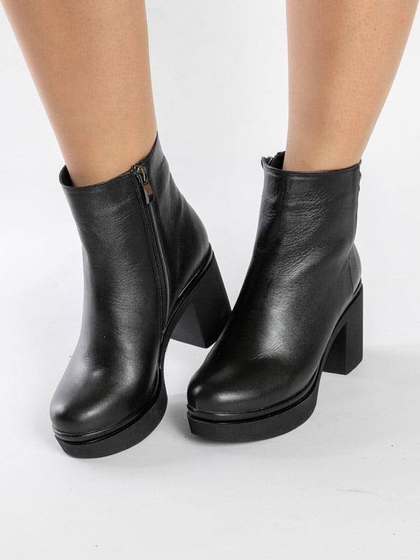 Ботинки черные   4872578