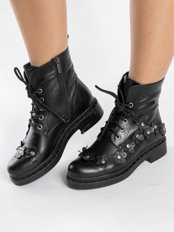 Ботинки черные   4872580