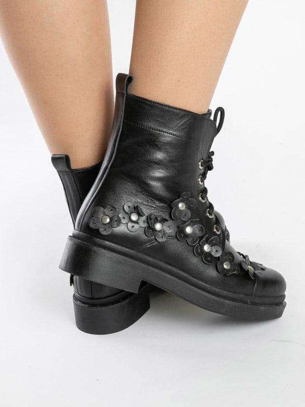 Ботинки черные   4872580   фото 4