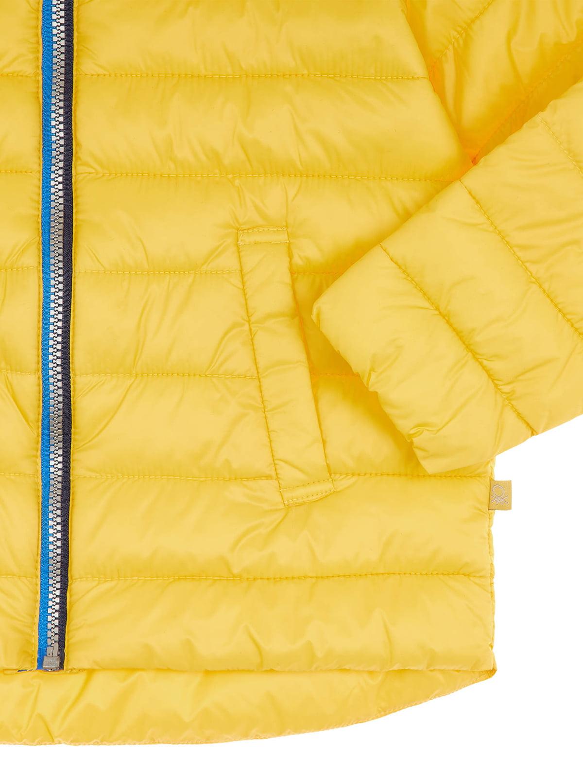 Куртка желтая   4864540   фото 6