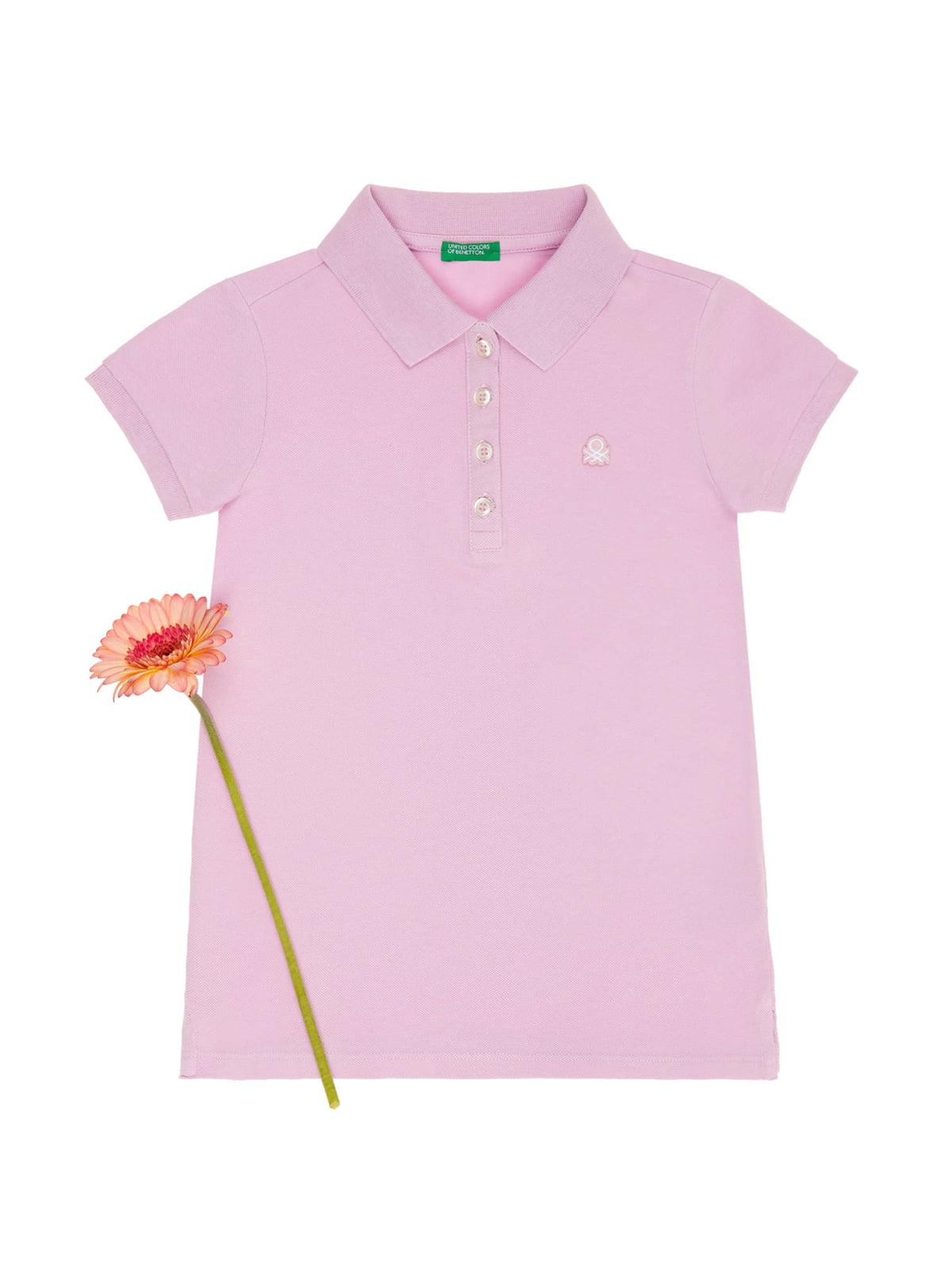 Футболка-поло рожева   4864720