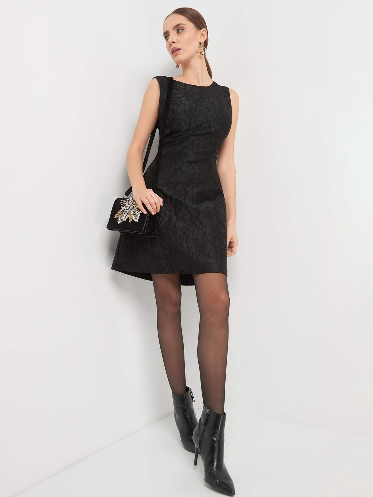 Платье черное | 4876412 | фото 4