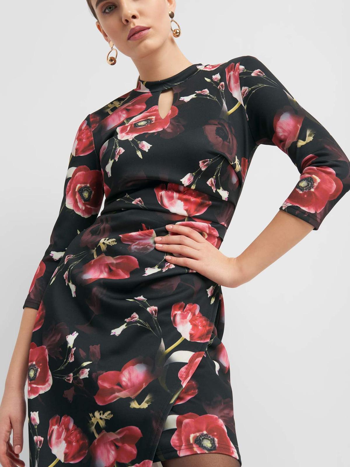 Платье в цветочный принт | 4880060