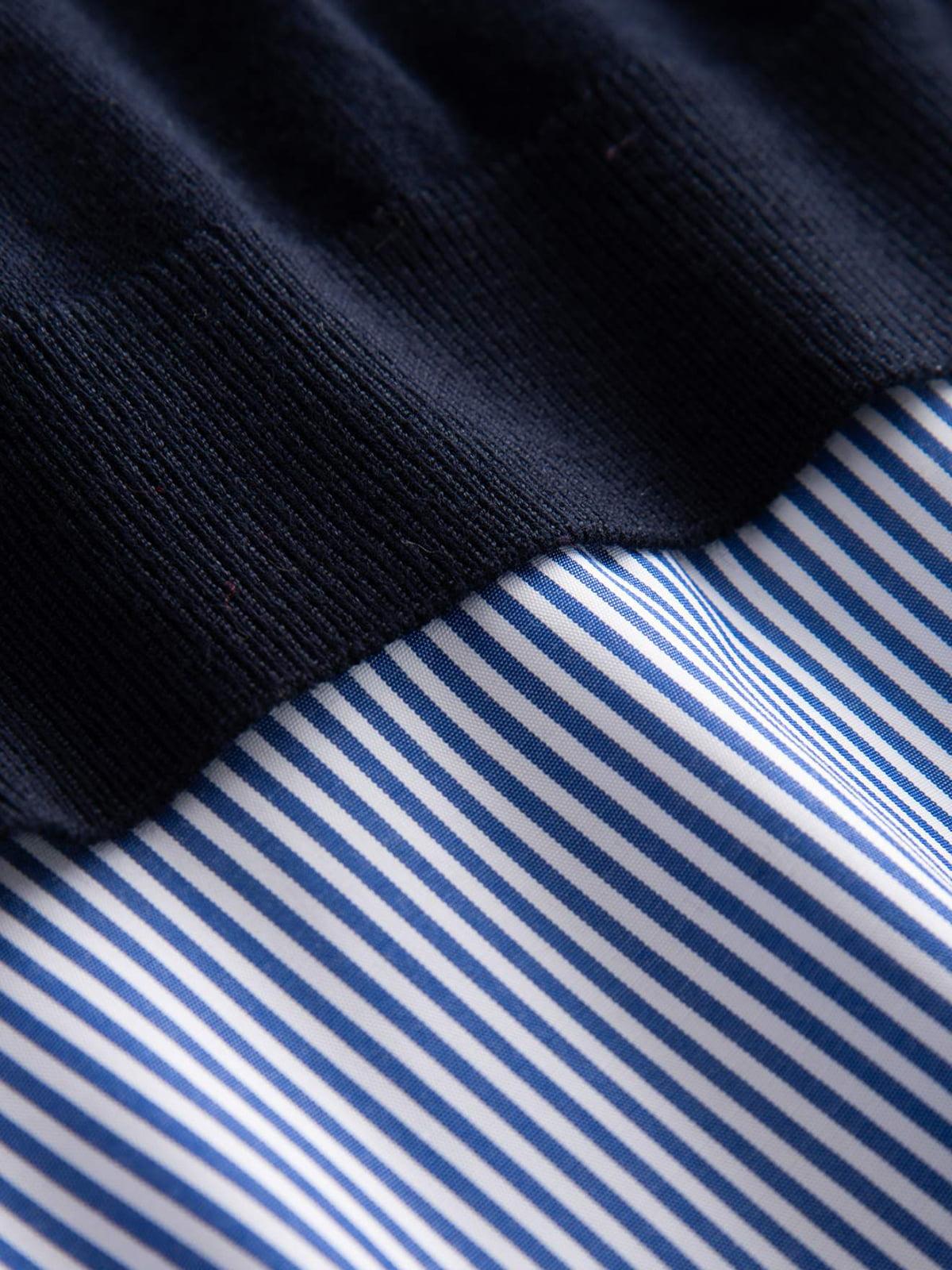 Джемпер синий   4880068   фото 3