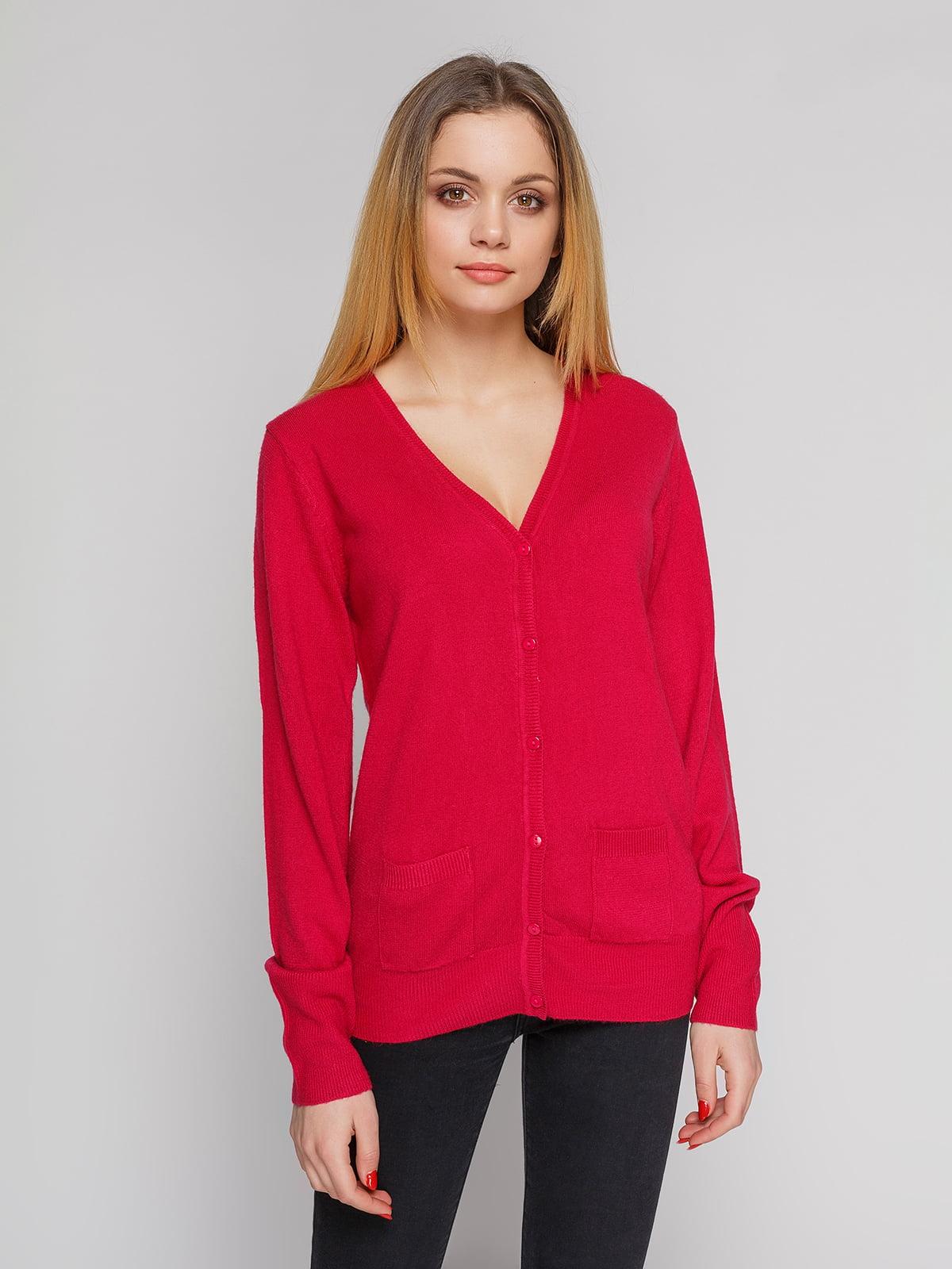 Кофта бордово-малиновая | 4855286