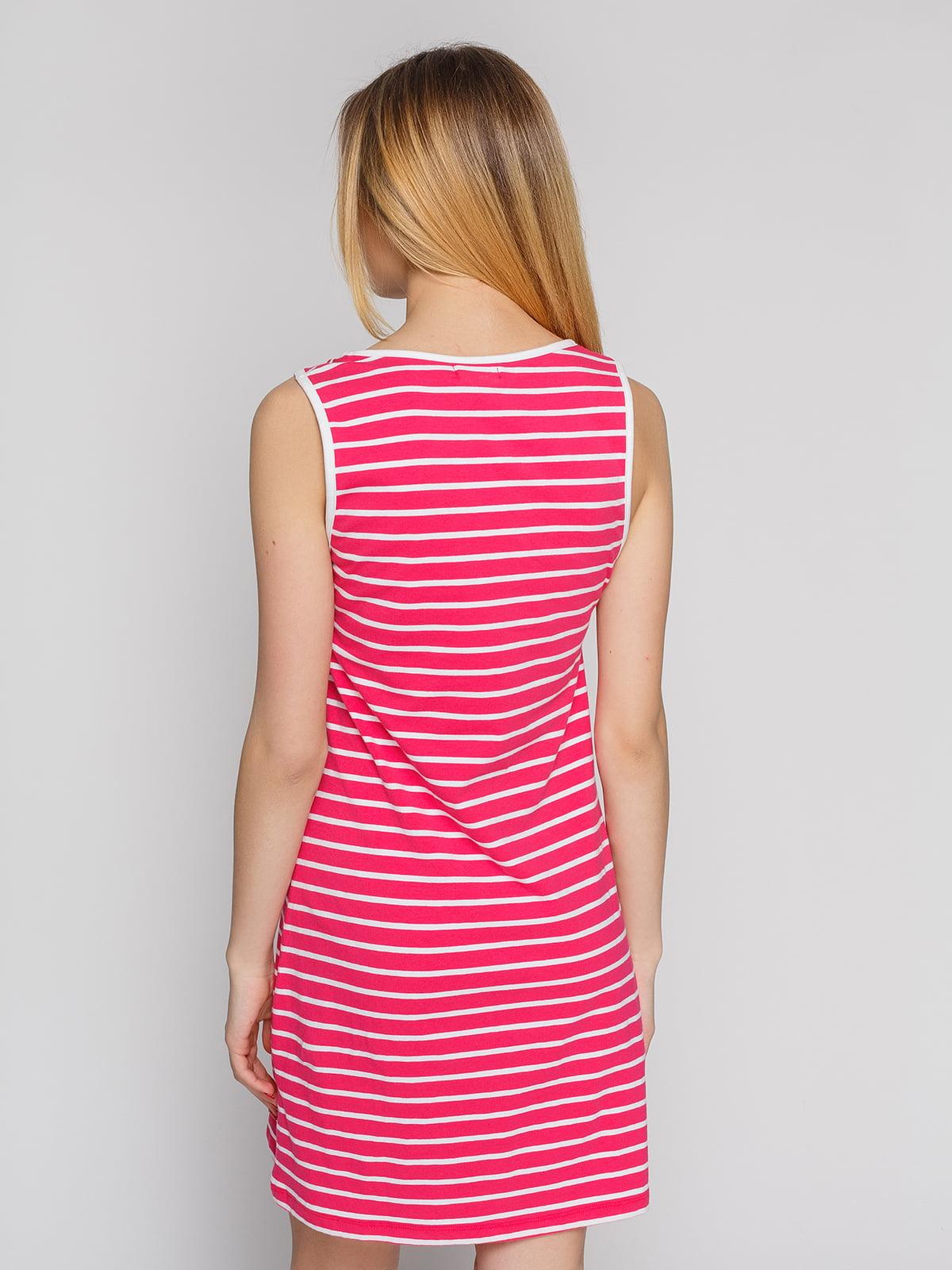 Сукня червона в смужку | 4855310 | фото 2