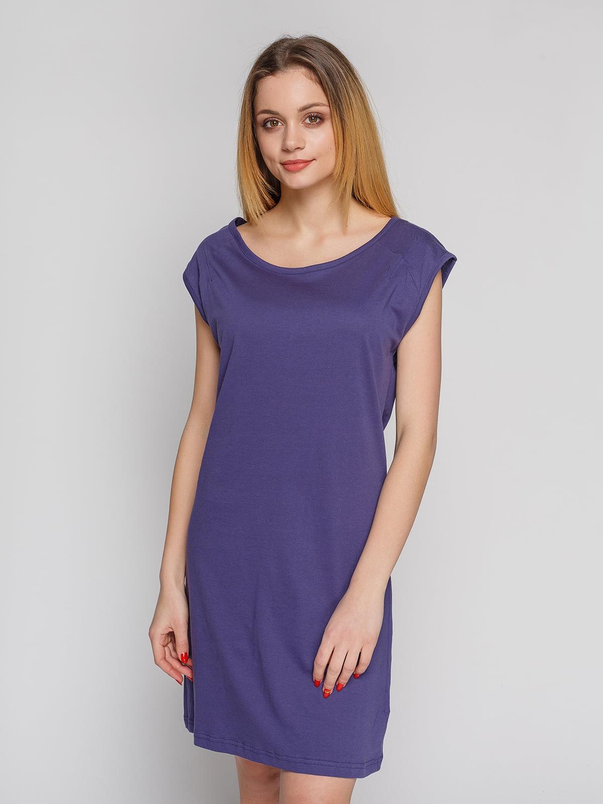 Сукня темно-фіолетова | 4855333