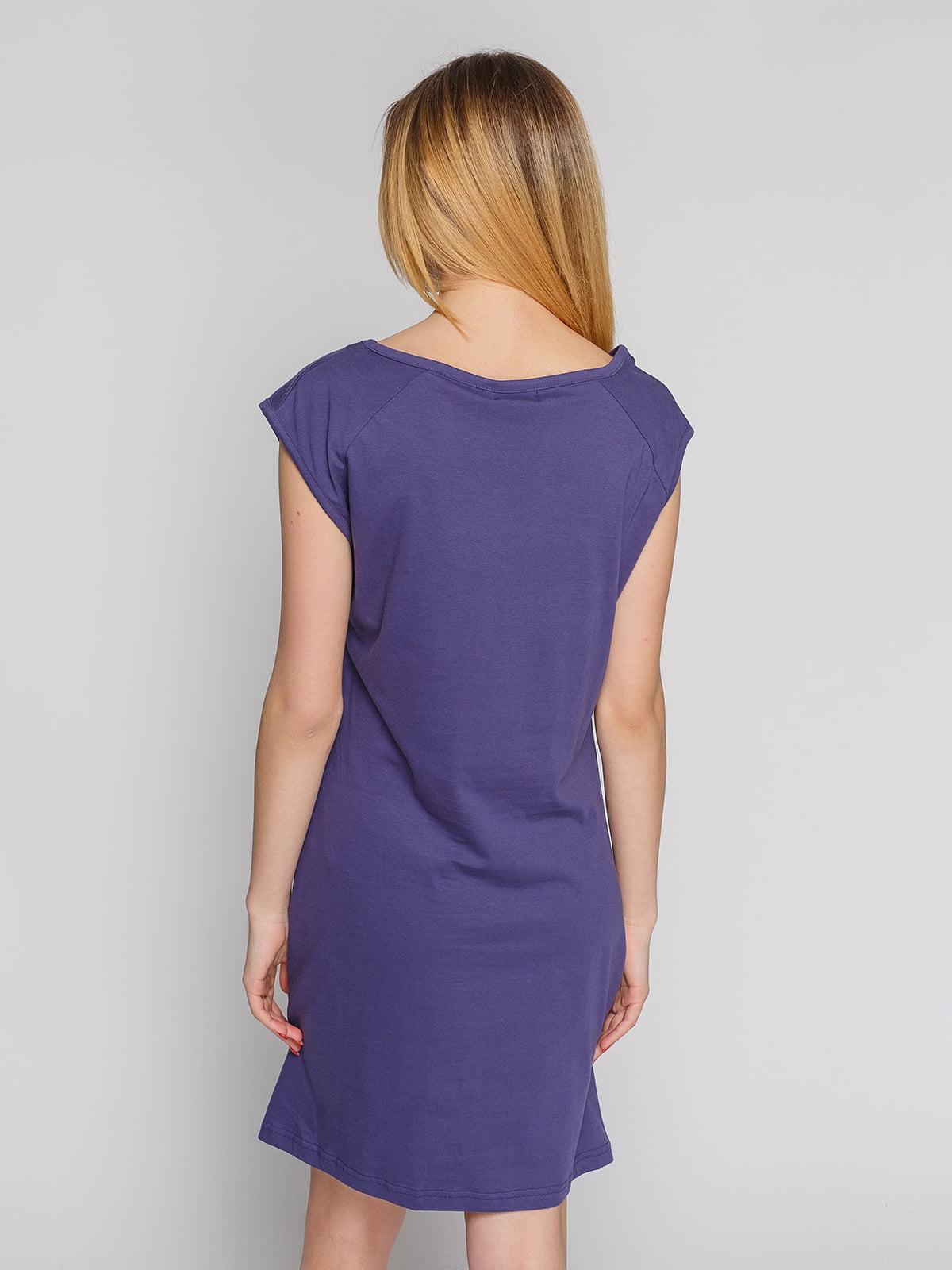 Сукня темно-фіолетова | 4855333 | фото 2
