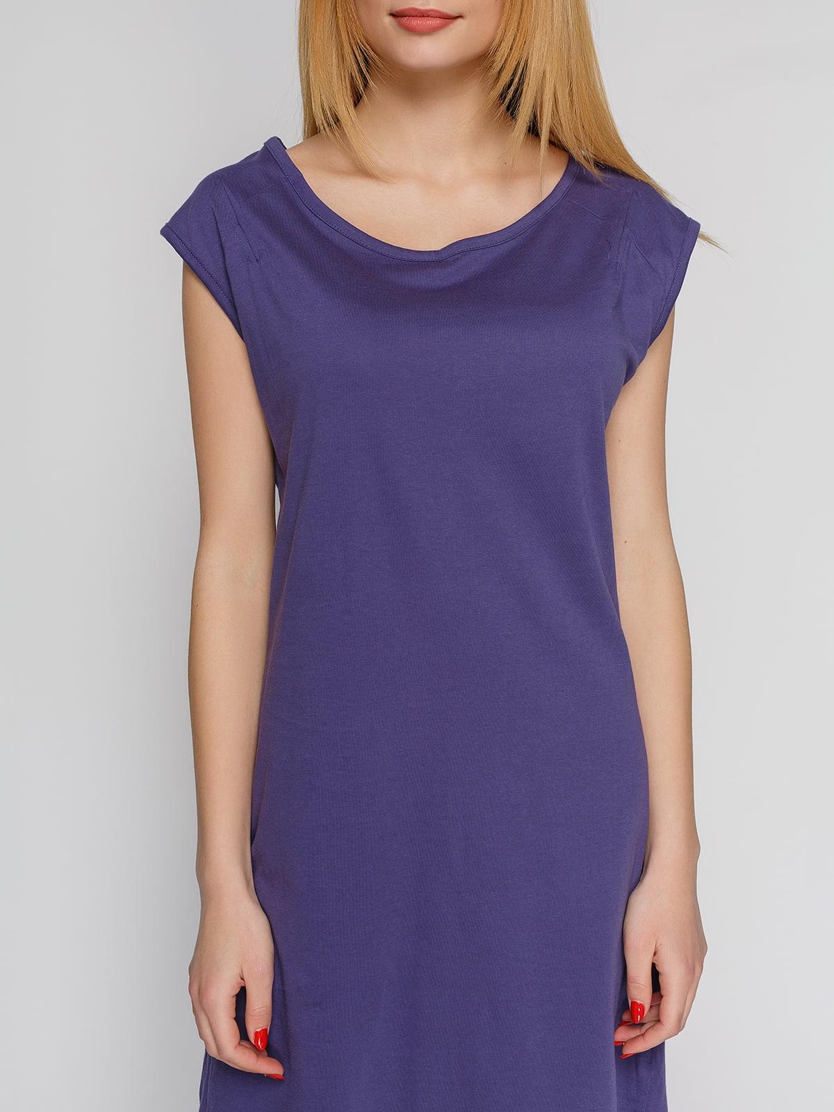 Сукня темно-фіолетова | 4855333 | фото 3