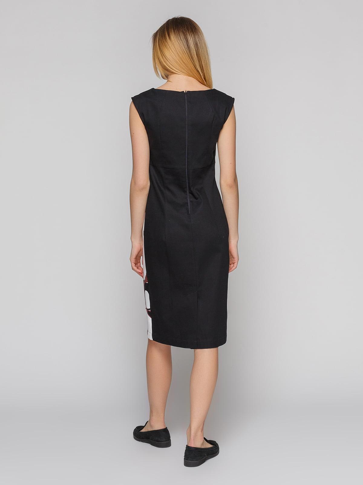 Платье абстрактной расцветки   4855345   фото 2