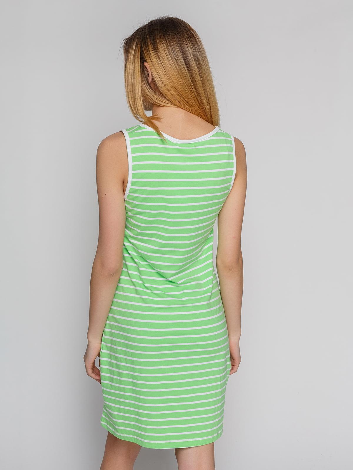 Сукня зелена в смужку | 4855312 | фото 2