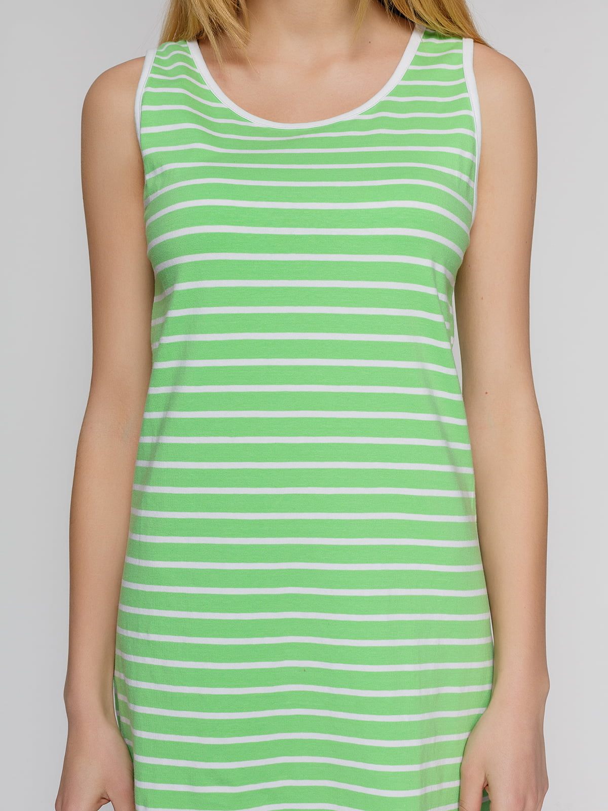 Сукня зелена в смужку | 4855312 | фото 3