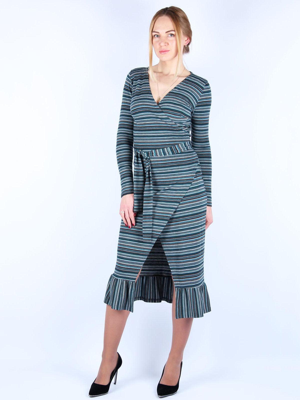 Сукня в смужку | 4885369