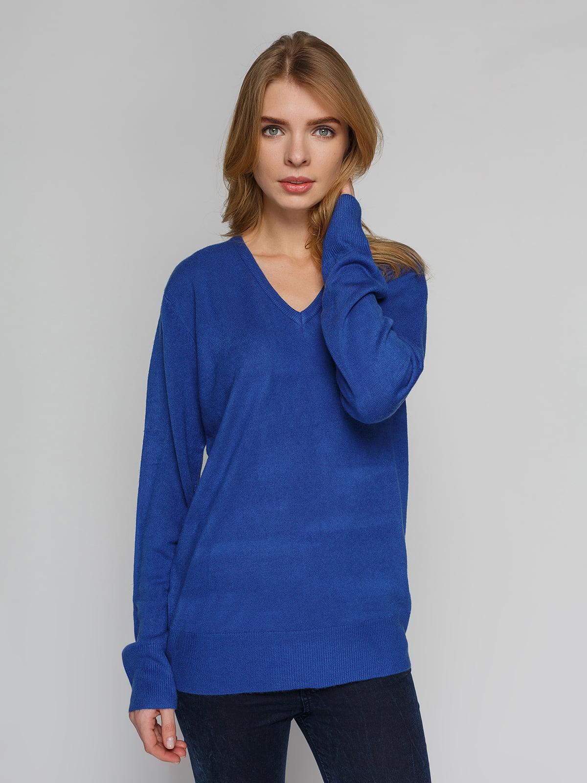 Пуловер синій | 4855276