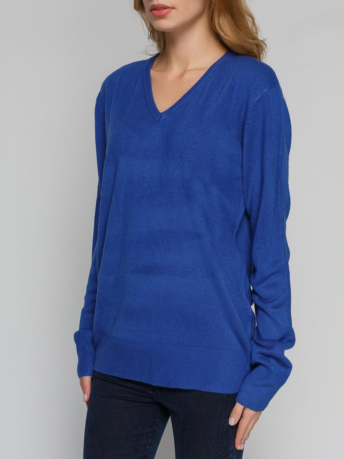 Пуловер синій | 4855276 | фото 3