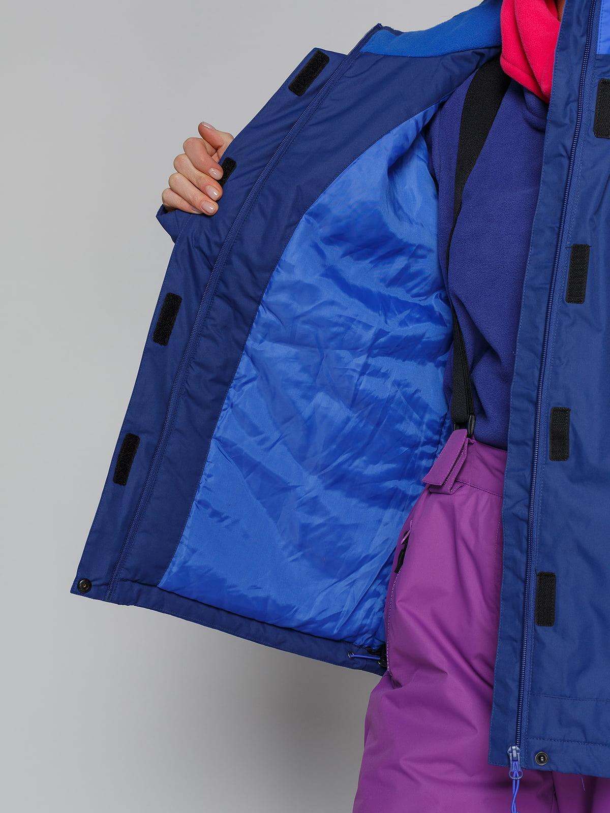 Куртка синяя   4828455   фото 4