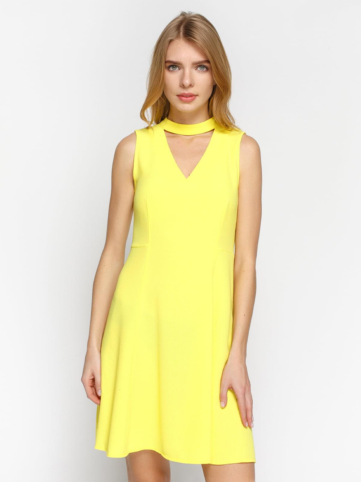 Платье желтое | 4871039