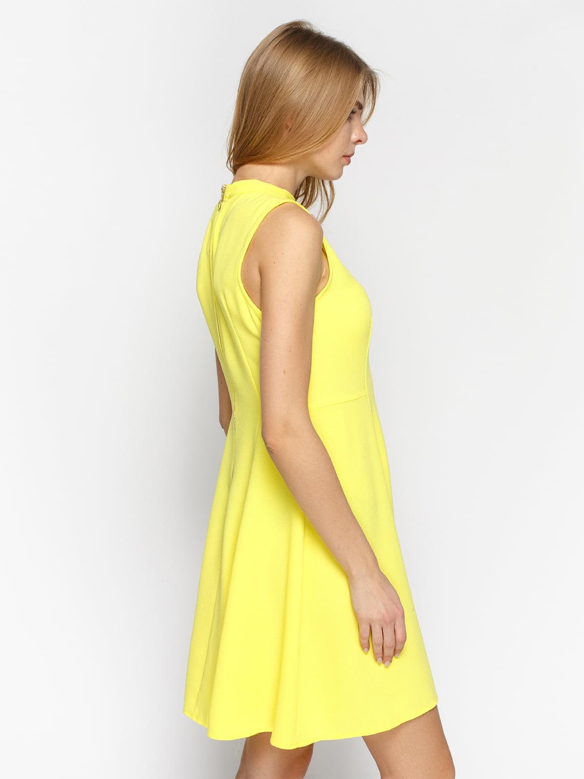 Платье желтое | 4871039 | фото 2